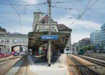Gais-Appenzell Bahnhof St. Gallen